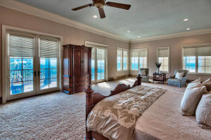 Spacious Master Suite with Breathtaking Gulf and Coastal Lake Views