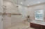 Walk-in shower & whirlpool tub Master Bath - 2nd floor