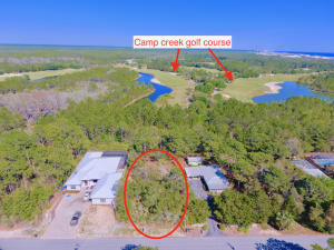 Lot backs up to Camp Creek Golf Course