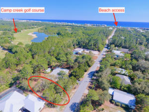 Proximity to beach access and Camp Creep Golf Course