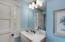 Upstairs guest bath vanity