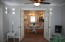 Double french doors in office/media room