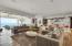 Open, breezy living room
