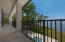 Balcony offers sweeping views.