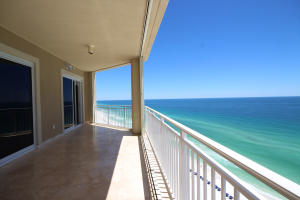 """Never miss another Sunset from this """"huge"""" wrap around balcony, complete with Hurricane Shutters"""