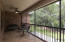 Screened Patio so you can relax without concern about bugs