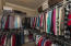 Large Walk-In Master Closet - Crown Molding even in here!