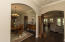 Archways into Dining Room and Family Room