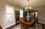 Large Dining Area - plenty of room for large table and hutch/buffet (or both)
