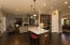 Clear View from Kitchen to Family Room- Very open!