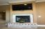 Master Bedroom Double sided Fireplace