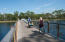 Biking across the bridge to Phase 3