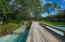 Bridge across the Cerulean Park koi pond