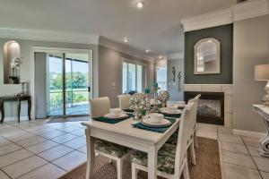 Dining open to Screened Porch