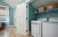 Carriage House full laundry room