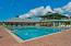 Beach club and pool