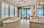 Third level. Gulf-front master bath, a true sanctuary on the beach!