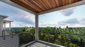 Rendering for Lot #5 View from 4th Floor Viewing Terrace