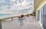 Trex deck with wide beach views