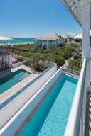 Large Lap pool, private courtyard & gorgeous Gulf views