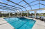 35' x 15' pool is perfect for swimming laps or large pool parties.