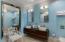 Master bath with continental design