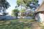 Privacy fenced yard