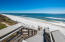Steps from your private deck onto white sands of the Emerald Coast!