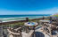 Second level. Boundless Gulf views from large private deck that includes outdoor showers