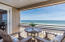 Third level. Enjoy your morning coffee on the private balcony with Gulf views
