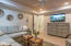 First level. Entrance into quaint, cozy living area