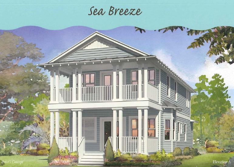 Our most popular Sea Breeze plan! This 4 bedroom, 3.5 bath home includes guest suite on 1st floor, bunk room, and loft. Kitchen includes built in GE Cafe Appliances with refrigerator, shaker cabinets, granite countertops and tile backsplash. Beautiful wood floors throughout, outdoor showers, impact resistant windows/ doors, and 2 x 6 exterior framing are just a few of the things that are done differently than other area builders. NatureWalk at Seagrove has become the premier place to be near Seaside with the amenity-rich Gathering Place- complete with heated lap pool,hot tub, zero entry pool, fire pit, grills, and much more!
