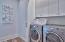 Laundry area on third floor.