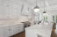 Totally new modern and updated kitchen with large island and upgraded appliances