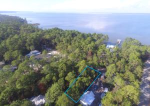 Great lot one-off the Bay in Magnolia Beach, Point Washington. Only a few minutes from 30A!