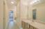 Second vanity area