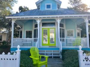 Coastal Cutie is a quintessential Seaside Beach Cottage