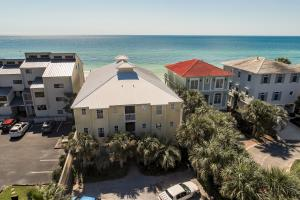 Tucked away off of 30A at the beach. Only 12 units in building