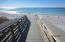 The beach access is beautifully developed with easy access to the beaches