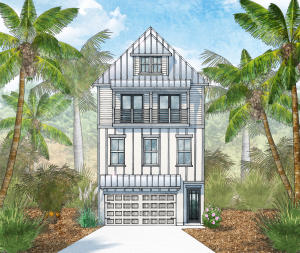 This is a rendering of the Janelle, it represents how the home will look when completed.