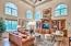 Offering tall ceilings and tons of natural light.