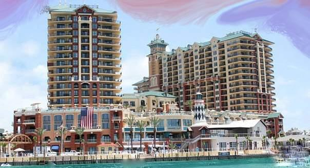 Fractional Ownership. From this 4BR/4Bath 9th floor location, with panoramic views, all you are going to see are glowing colorful sunsets and the crystal clear emerald green waters of the Gulf, Pass & Harbor. You will never want to leave! This location hits the sweet spot in the building. The unit offers six weeks of owner use. If you buy both 906F and 906E you will get 12 weeks of use. You won't find a deal like this anywhere else to get your R&R in style when you need it.   Kitchen includes granite counters, bar, GE Profile Appliances, Italian porcelain floors, & crown molding throughout. Master offers a garden tub, separate shower and Italian marble flooring. Amenities include a 9700 sq.ft. European spa & fitness center,kids club,arcade, restaurants. Owner Financing available.