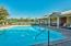 The community boasts two swimming pools.