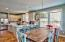 Dining easily accommodates 12 - perfect for large families or groups vacationing together!