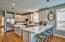 Open & NEWLY UPDATED kitchen boasts an abundance of countertop space for the chef in your family!