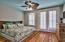 Large Master bedroom located on 2nd floor adorn with private balcony.