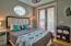 Downstairs bedroom w/jack & jill bath.