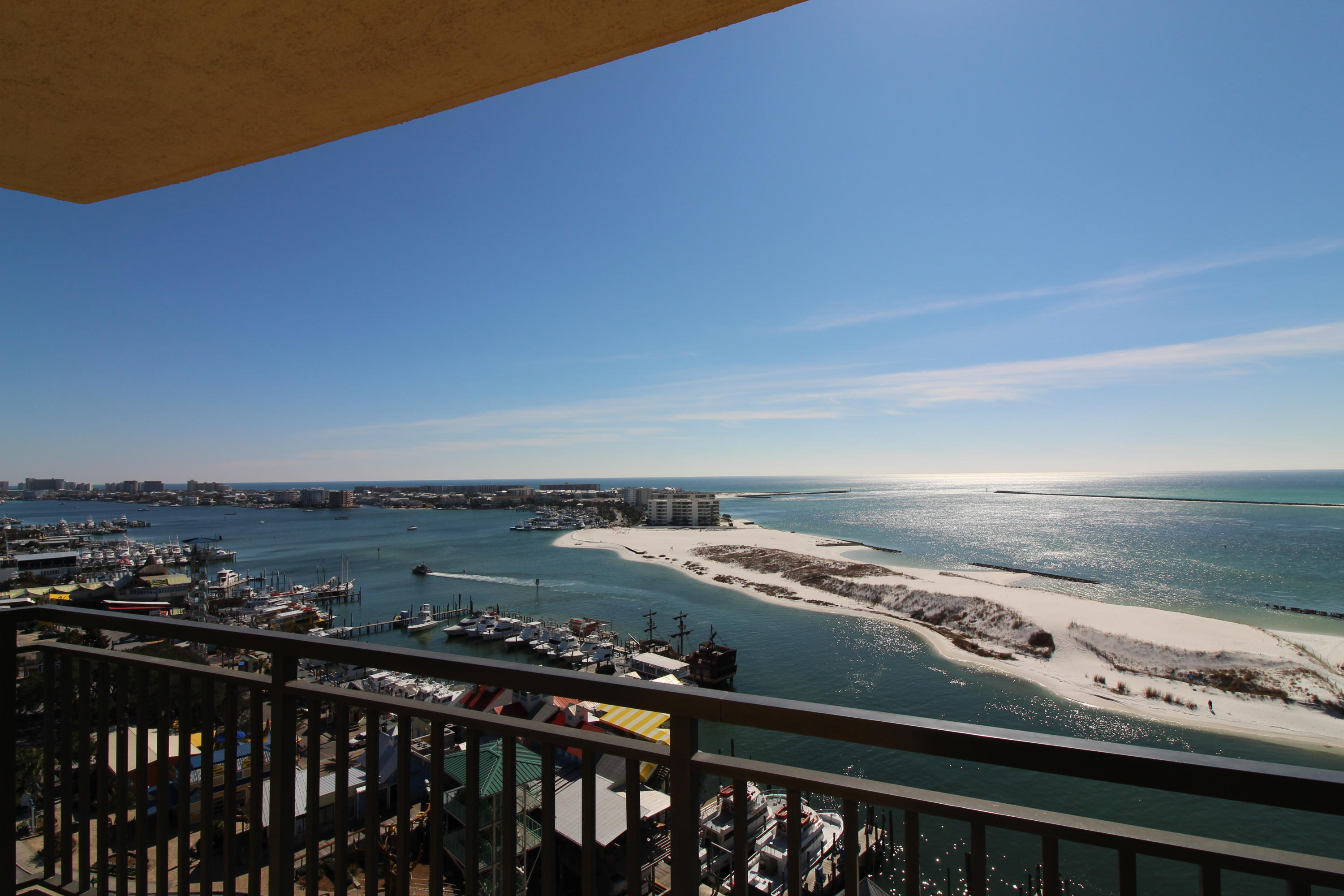 Fractional Ownership. From this 4BR/4BA 9th floor location, with panoramic views, all you are going to see are glowing colorful sunsets and the crystal clear emerald green waters of the Gulf, Pass & Harbor. You will never want to leave! This location hits the sweet spot in the building. The unit offers six weeks of owner use. If you buy both 906E and 906F you will get 12 weeks of use. You won't find a deal like this anywhere else to get your R&R in style when you need it.   Kitchen includes granite counters, bar, GE Profile Appliances, Italian porcelain floors, & crown molding throughout. Master offers a garden tub, separate shower and Italian marble flooring. Amenities include a 9700 sq.ft. European spa & fitness center,kids club,arcade, restaurants Owner Financing  available.