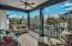 4 Large Balconies. 752 sf of porches and balconies