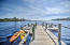 Dock to Western Lake.